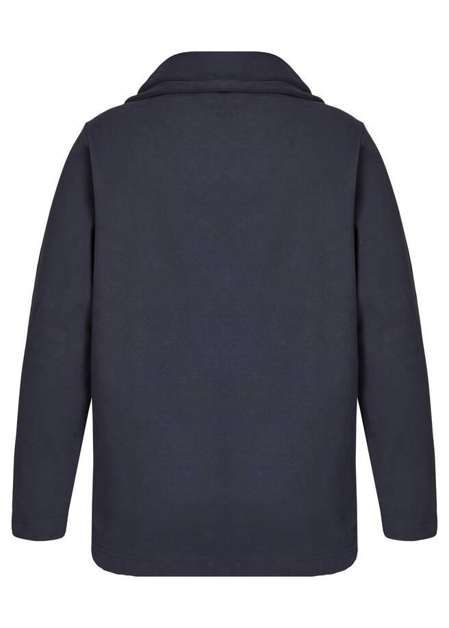 Kapuzensweatshirt mit Paillettenschriftzug /