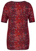 Cooles T-Shirt mit Leoparden-Muster /