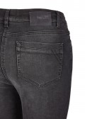 Legere 5-Pocket-Jeans mit Bewegungsfalten /