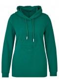 Sportives Sweatshirt mit Kapuze /