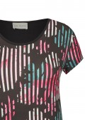 Sommerliches Shirt mit extravagantem Muster /