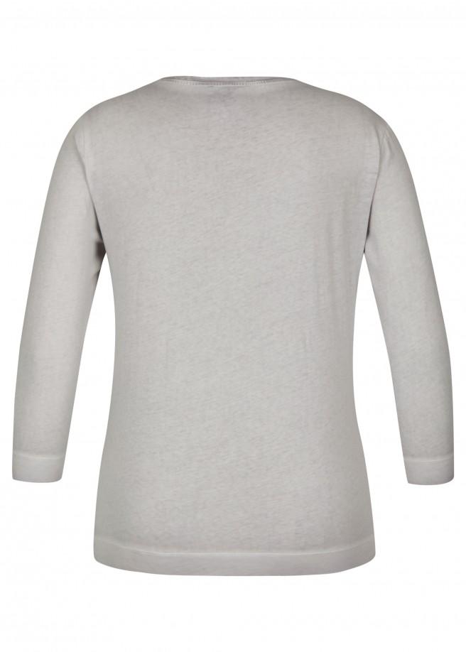 Modernes Shirt mit Front-Print /