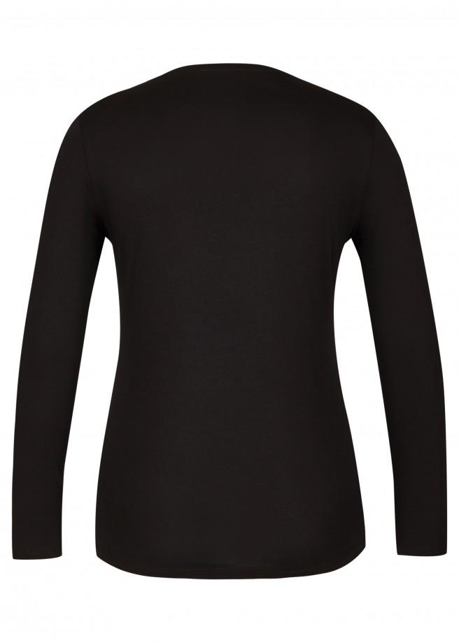 Feminines Shirt mit Motiv /