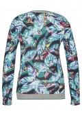 Fröhliches Shirt mit Blatt-Design /