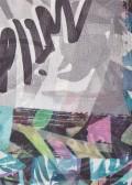 Zartes Tuch mit Print /