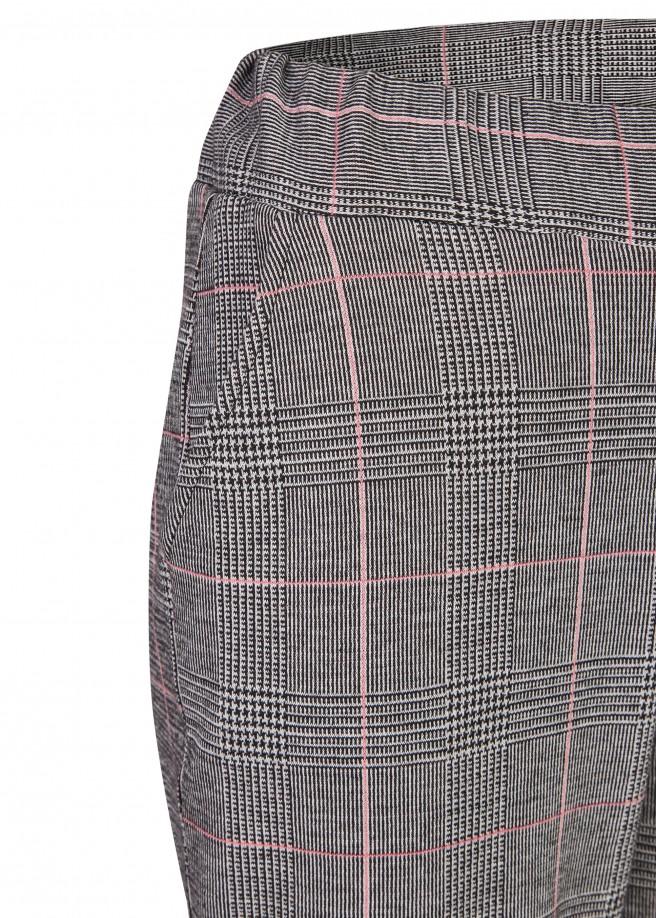 Modische Stoffhose mit angesagtem Glencheck-Muster /
